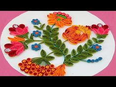 How To Make Beautiful Flower Using Paper Art Quilling Quilling Made Easy: In this paper quilling tutorial you will learn how to make advanced quilled flowers...