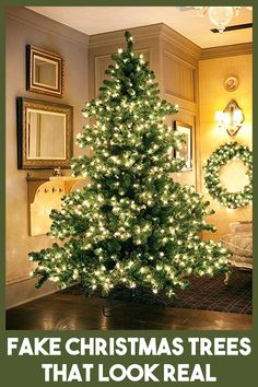 The Best Artificial Christmas Trees 2018 Home Interiors Across The