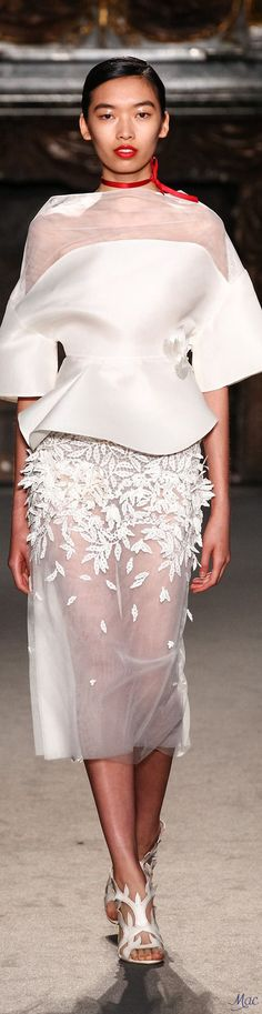 Fall 2016 Haute Couture - Lan Yu