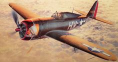 Republic P-47D Thunderbolt 'Little Chief' by Shigeo Koike