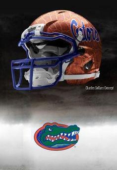 """Florida Gators - Nike Pro Combat Concept Helmets.""  Click here to see ALL 6 concept helmets."