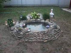 Vous voulez décorer votre jardin avec un jolie bassin? C'est simple! Suivez toutes ces étapes et vous allez voir que le résultat est magnifique!