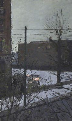 Hammersmith under Snow - ruskin spear