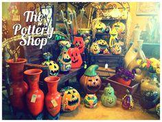 The Pottery Shop in Clinton Arkansas.
