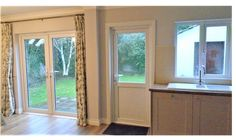 Internal view of #frenchdoors and back #upvcdoors