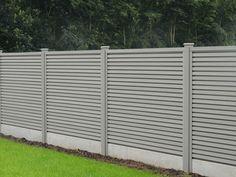 Paneelafsluiting type Collfort met houten palen