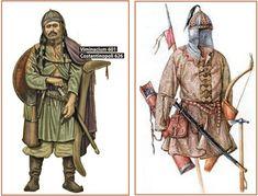 Ávaros, guerrero, s VII