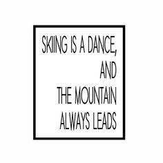 Why I love to ski so much
