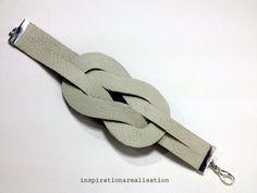 Illusion+Knot+Bracelet+#howto+#tutorial