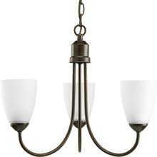 View the Progress Lighting P4440 Three Light Chandelier from the Gather Collection at LightingDirect.com.