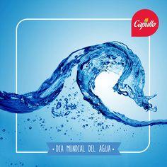 Hoy es el Día Mundial del Agua, así que recordemos, cada gota de agua, es una gota de vida, no la desperdiciemos. #Capullo