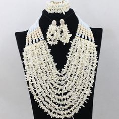 New Design African Nigerian Indian beads Traditional by Eaoza