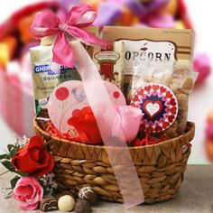 Happy Valentines Gift Basket from Holiday Gifts and Gift Baskets $63
