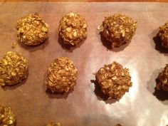 Peanut Oatmeal Lactation Balls. You can freeze these and take them out when you need them.