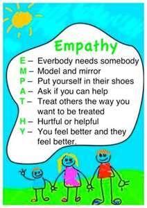 Empathy - everybody needs somebody