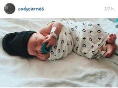 "@codycarnes : "" My new best friend "" #babycarnes  #CANYON CARNES"