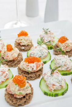 1000 images about my garden party on pinterest canapes for Cold canape menu