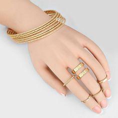 Bracelet + Ring Set