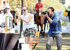 Hollywood's Hottest Stars Step Out For a Fancy Polo Match