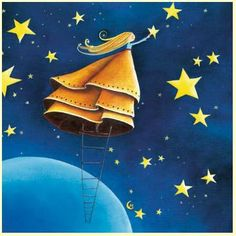 this one is for Ninette & Eponyme Illustrations...the sky is the limit! Marie Cardouat
