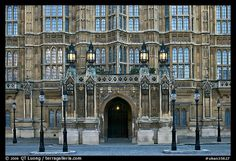Facade of Westminster Palace