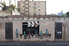 Dadi Dreucol. CORTEN / CUT. Málaga, Enero 2015. CORTEN. En memoria del antiguo Cine Andalucía y de todas esas salas que han desaparecido, en la que antes era una ciudad de CINE y no únicamente una ciudad de FESTIVAL DE CINE.