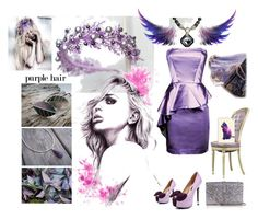 """""""Purple"""" by vualia ❤ liked on Polyvore featuring Bebe, Yves Saint Laurent and Casetify"""