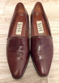 69b939194b8 Nine West Brown Leather Loafers Size 6M Nine West Womens Shoes  fashion   clothing