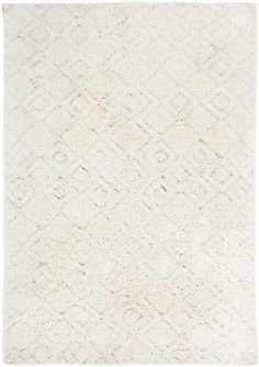 Alina Diamond Pattern Berber Wool Shag Rug - Miss Amara Natural Fiber Rugs, Natural Rug, Tribal Patterns, Buy Rugs, Rugs Online, Diamond Pattern, Modern Rugs, Rugs In Living Room, Shag Rug