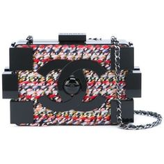 Chanel Vintage 'Lego' crossbody bag