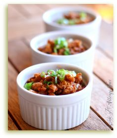 Root Beer Baked Beans: Great for a BBQ potluck or 4th of July cookout!