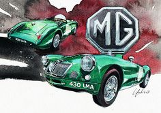 MGA Le Mans by Yoshiharu Miyakawa