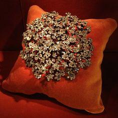 Carrot Flower Brooch, 2009 Diamonds, rubies, silver, gold. Mrs. Carol Yu Photo courtesy of Sweet Sabelle