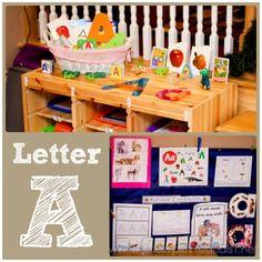 Home #Preschool Letter A