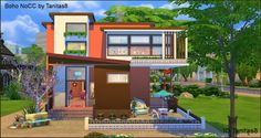 Boho house noCC at Tanitas8 Sims • Sims 4 Updates