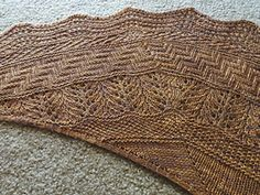 Ravelry: Project Gallery for Geology Shawl pattern by verybusymonkey