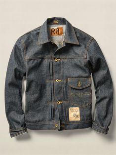 "rrlexchange: ""RRL Cowboy Denim Jacket """