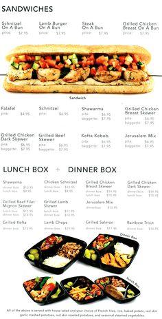 Me Va Me menu #3