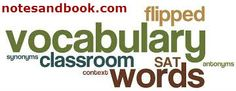 Boost your vocabulary with us at... http://www.notesandbook.com/userwordsdisplay.php