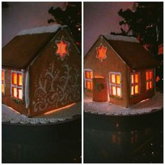Gingerbread, Table Lamp, Christmas, House, Home Decor, Xmas, Table Lamps, Decoration Home, Home
