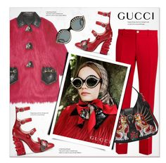 """""""Gucci resort 2017"""" by sella103 ❤ liked on Polyvore featuring Gucci"""