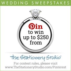 The Stationery Studio 2017 Wedding Sweepstakes