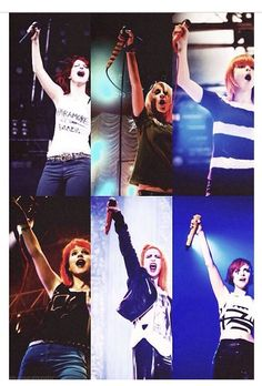 Hayley Williams 2008-2013 | love this. She is an inspiration.