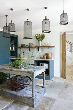 The Restoration of a Provençal Stone House in Luberon France French Interior, Interior Design, Provence Interior, Provence Style, Provence France, Flower Room, Rustic Kitchen, Style At Home, Decoration