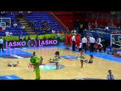 Eurobasket 2013 Slovenia dance of pretty girls
