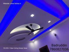 Plaster Ceiling Design, Interior Ceiling Design, House Ceiling Design, Bedroom False Ceiling Design, Interior Design Software, Wall Lighting, Lighting Design, False Ceiling Living Room, Pop Design