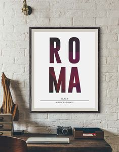 Roma City Print, Roma Poster, City Names Print, DIGITAL PRINT, City Poster, Cities Wall Art, Subway Poster, Minimalist Prints, Office decor https://www.etsy.com/listing/499340574/roma-city-print-roma-poster-city-names?utm_campaign=crowdfire&utm_content=crowdfire&utm_medium=social&utm_source=pinterest