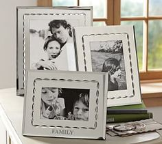 Etched Mirror Frames #Pottery Barn