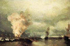 Your Swedish Heritage: Battle of Vyborg Bay 1790 #naval #military #Russian #war #Swedish