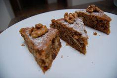 Fotorecept: Orechovo-mrkvový fitness koláč